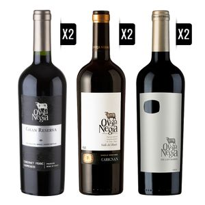 Pack-Oveja-Negra-2x-Gran-Reserva-CFCM---2x-SV-Carignan---2x-Lost-Barrel