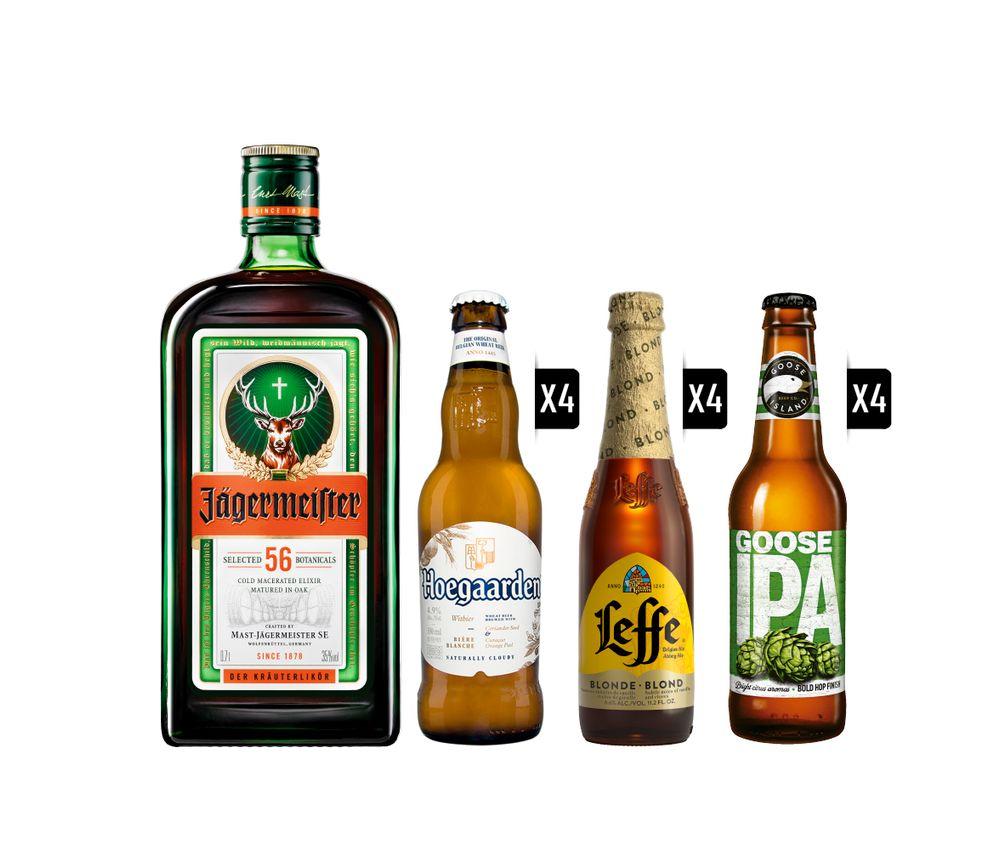 Jager-3x-4packs-Leffe-Hoegaarden-IPA